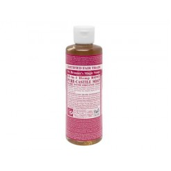 Dr. Bronner Liquid Soap 236 ml Rose