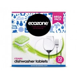 Ecozone Vaatwastabletten All in One Classic 72 tabletten