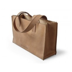 MYOMY My Paper Bag Handbag met rits Blond
