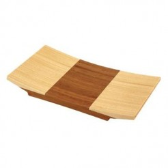 Totally Bamboo Bamboe Sushi schaal (24x15 cm)