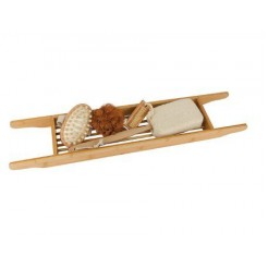 Bamboe badrekje (inclusief badkamer producten)