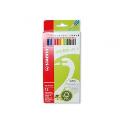 Stabilo FSC gekleurde potloden (12 stuks)