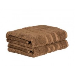 Handdoek taupe (60x110 cm)